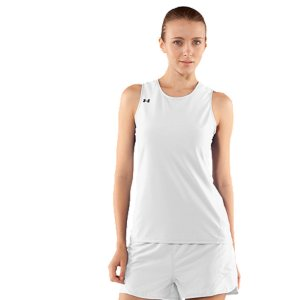 Fitness Lightweight running tank wicks moisture to keep you cool, dry, and light4-way stretch improves mobility and accelerates dry time, while maintaining shapeStrategic ventilation where the body dumps heat ensures you stay cool when the pressure's onAnti-odor technology prevents the growth of odor-causing microbes to keep this women's running tank fresher, longerFlatlock seams eliminate chafing100% PolyesterImported - $18.99