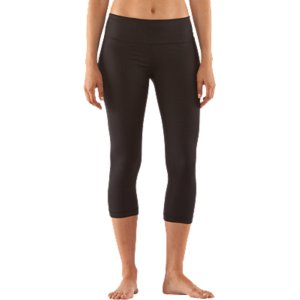 "Fitness In an endless sea of black capris, it may seem next to impossible to find the ones that are right for you. So we'll make this simple: These are them. With a flattering 20"" inseam, supportive but super-breathable StudioLux(R) fabric, hidden key pocket, and body slimming construction, these capri pants check all the boxes for the best-pants-in-the-world award. Signature StudioLux(R) fabric delivers relentless performance with a super-soft luxurious feel Unparalleled support for a secure, confident fitSignature Moisture Transport System wicks sweat to keep you dry and lightLightweight, 4-way stretch construction improves mobility and accelerates dry timeWide, 2-piece waistband prevents bunching, bulging, and bothersome roll-overAdvanced seam placement shows off your curvesRise sits just right on your hips for a more flattering fit and feelAnti-microbial ""strut gusset"" construction fits just right and never looks too tightHidden waist pocket to stash your keys, cards, or cash20"" inseam Polyester/ElastaneImported - $48.99"