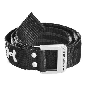 Sports Specially designed football belt keeps uniform pants in place so you can stay focused on the fieldHeavy-duty webbing delivers outstanding support and durability when you're in the thick of itUnique grippy technology provides maximum stability with pants, pads, and jerseyUA logo says you mean businessMen's one size fits allImported - $14.99