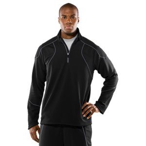 Fitness Soft-to-the-touch textured knit fabric traps just the right amount of body heat to keep you comfortable in changing weather conditionsSignature Moisture Transport System wicks away sweat to keep you drier and more comfortableErgonomic cuff construction ensures a better fit to keep your body temperature consistentHand pockets keep hands warm and your stuff secure100% PolyesterImported - $44.99