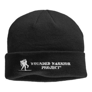 Fitness This beanie is an Official Wounded Warrior Project(R) Licensed product.  Between August 2012 and December 2015, Under Armour will make a donation of over $2 million to WWP, benefiting injured service members and their families.  Dual-layer fabric gives you a soft, ultra-warm interior and a slick, fast-drying exterior.  4-way stretch fabrication allows greater mobility and maintains shape.  Signature Moisture Transport System wicks sweat away from the hand.  Tonal logo for use with a uniform.  Nylon/Polyester/Elastane.  Imported. - $24.99
