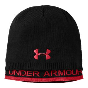 Fitness A unique look & high-performance, lightweight warmth define UA's soft, layered beanie. Layered construction adds warmth and style to your gameSoft knit fabric provides superior comfort and lightweight performanceSignature Moisture Transport System wicks sweat away from the bodyColdGear(R) lining has a little stretch and a lot of warmthBody: AcrylicLining: Polyester/ElastaneImported - $18.99