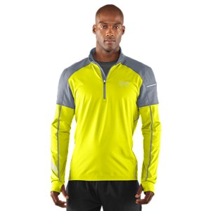 Fitness When you're hitting your stride, you can't let the elements slow you down. That's why UA made a UA Storm  1/4 zip run jacket. From the breathable, highly water-resistant finish to the warm, lightweight construction and streamlined fit-you'll have the power to push through the rain and cold. UA Storm gear uses a DWR finish to repel water without sacrificing breathabilityDual-layer fabric with an ultra-warm, brushed interior and a slick, fast-drying exterior4-way stretch fabrication allows greater mobility and maintains shapeSignature Moisture Transport System wicks sweat away from the body Strategic venting provides airflow where you need it Graphics and logos provide 360Adeg reflectivity for safer low-light training30+ UPF protects your skin from the sun's harmful rays Performance thumbholes keep your sleeves firmly in place Drop hem provides extra coverage on the moveZipper garage to prevent irritationSecure left sleeve pocket with internal buttonhole for headphonesIconic UA Run blade graphicPolyester/ElastaneImported - $66.99