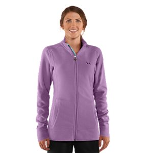 Fitness 7.5 oz. Polartec(R) fleece construction delivers superior protection against the coldBrushed poly interior traps heat for all-day warmth and comfortQuick dry construction wicks moisture to keep you drier, lighter, and more comfortableEasy full zip front with interior storm flap for extra protection against the cold Zipper garage locks pull securely in place Hand pocketsPolyesterImported - $59.99