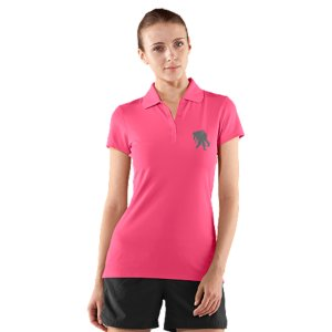 Fitness This classic women's polo is an Official Wounded Warrior Project Licensed productBetween August 2012 and December 2014, Under Armour(R) will make a donation of over $1 Million to Wounded Warrior Project(TM)  benefiting injured service members and their familiesField-tested micro pique fabric is soft and features moisture management technology to keep you cool and dryAnti-odor technology prevents the growth of odor-causing microbes to keep your gear fresher, longerRib collar built in for comfort and durabilityWWP embroidered logo on chest show who you support4.0 oz. Polyester/ElastaneImported - $34.99