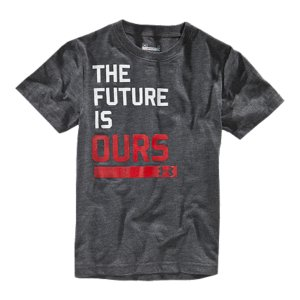 Entertainment Give your future athlete performance now. UA's cool, light & dry infant-sized performance t-shirt. Updated lightweight UA Tech(TM) fabric with an ultra-soft, natural feel for unrivaled comfort Signature Moisture Transport System wicks sweat away from the body Anti-odor technology prevents the growth of odor-causing microbesSmooth flatlock seam construction delivers chafe-free motionHigh-density inkPolyesterImported - $15.99