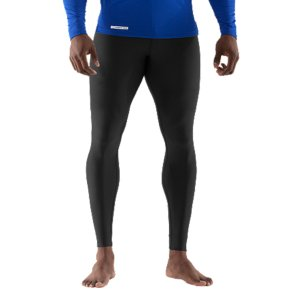 "Sports WHY WE MADE IT: Athletes generate most of their power in their legs. But that output decreases when these major muscles get cold or your legs get weighed down from sweat. Our Men's UA EVO ColdGearA(R) Compression Leggings solve both problems-and then kick it up a notch. Their second-skin fit activates muscles, increasing their power, and speeding up recovery. All while trapping warmth and wicking away energy-sapping sweat. Keep your legs warm and dry-and turbo-charge them while you're at it. Powerful stuff, isn't it? When you pull on the super-tight, second-skin squeeze of the Men's UA EVO Compression Leggings, you'll feel it. The signature squeeze that activates your muscles for increased power-for football, hockey, training, and more. It improves circulation to your muscles, carrying the oxygen they need for more efficient performance. The dual-layer ColdGear(R) fabric keeps those muscles warm when the air temp isn't cooperating, and wicks sweat to the surface to keep you dry, light, and ready for more. It's official...our Men's UA EVO ColdGear(R) Compression Leggings work just as hard as you do. Bottom line: they're Tight But Nice(TM). Dual-layer fabric gives you a soft, ultra-warm interior and a slick, fast-drying exterior4-Way Stretch fabrication allows greater mobility and maintains shapeSignature Moisture Transport System wicks sweat away from the bodyAnti-Odor technology prevents the growth of odor causing microbesSmooth, chafe-free flatlock seam constructionBranded elastic waistbandInseam Length: Size LG 27.25"" (+/- 1/2"" per size)7.1 oz. Polyester/ElastaneImported - $37.49"