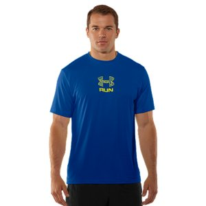 Fitness At UA, we always believe in putting performance first. That's why all our graphic T-shirts are more than just a design-they're designed to make you better. The UA Tech(TM) T-shirt uses a lightweight material that feels softer and more natural without losing the quick-dry, moisture-wicking properties athletes need. That's just the in-your-face performance of UA graphic T's. Updated lightweight UA Tech(TM) fabric with an ultra-soft, natural feel for unrivaled comfort Signature Moisture Transport System wicks sweat away from the body Anti-odor technology prevents the growth of odor-causing microbesSmooth, chafe-free flatlock seam constructionPolyesterImported - $18.99