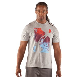 Fitness At UA, we don't believe in making gear that doesn't make you better. Our graphic T-shirts are more than a design-they're designed to perform. Charged Cotton(R) takes the natural comfort of cotton and adds the power to wick moisture and dry quickly, so you can perform at your best. You're wearing more than a T-shirt. You're wearing Under Armour(R). Lightweight Charged Cotton(R) adds quick-dry performance to the soft comfort of cotton Signature Moisture Transport System wicks sweat away from the body Anti-odor technology prevents the growth of odor causing microbesDurable ribbed collar provides a comfortable fitCotton/PolyesterImported - $24.99