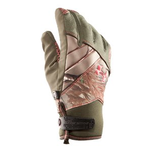 Fitness Gloves with dual-layer fabrication that's highly water-resistant but breathable for maximum drynessBrushed tricot lining feels soft and helps keep you warm, even after hours outdoorsRibbed stretch outer shell and extra flex fabric (gussets) on the fingers increase dexterityDurable synthetic suede palm features a silicone hex print to deliver a firm gripNeoprene wrist cuff with adjustable closure allows for a secure, custom fitPadded knuckles add extra protection100% PolyesterPalm: Nylon/Polyurethane - $37.99