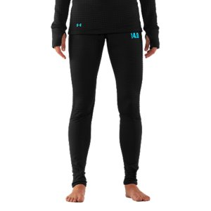 "Fitness Not your ordinary long underwear, our Women's UA Base(TM) 4.0 Leggings were built to take on even the most brutal cold without adding a lot of bulk. The secret's in the slim, next-to-skin fit and updated mega grid fabric that traps heat in tiny pockets for all-day warmth and comfort. Finished with smooth flatlock seams, quick dry fabric, and comfort stretch waistband, these seriously warm leggings are an essential layer for winter workouts. UA Base(TM) 4.0 is built for brutal coldSuper plush mega-grid fabric traps heat in tiny pockets for long-lasting protection against the coldQuick dry construction wicks moisture to keep you drier, lighter, and more comfortableArmour Block(R) neutralizes odor-causing microbes to keep your women's leggings fresher, longerLightweight, 4-way stretch fabrication improves range of motion and dries fasterFlatlock seams unlock mobility and eliminate chafingPerformance waistband allows for a comfortable, secure fit30.5"" inseamBody: 7.25 oz. Polyester/ElastaneCuffs/Waist: 4.5 oz. Polyester/ElastaneImported - $63.99"