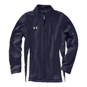 Fitness Soft knit fabrication combines UA performance with soft comfort for your ultimate go-to training jacketLightweight, 4-way stretch fabrication improves range of motion on the fieldSignature Moisture Transport System wicks away sweat to keep you drier and more comfortableSide pockets provide hand warmth and simple storagePolyesterImported - $36.99