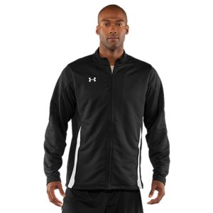 Fitness Durable knit fabrication combines UA performance with soft comfort for your ultimate go-to training jacketLightweight, 4-way stretch fabrication improves range of motion on the fieldSignature Moisture Transport System wicks away sweat to keep you drier and more comfortableSide pockets provide hand warmthTonal Under Armour(R) wordmark embroidered on backPolyesterImported - $44.99