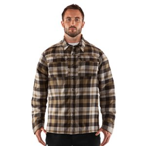 Fitness The comfort of flannel. The warmth of a cold weather jacket. And the performance of Under Armour(R). The soft flannel exterior and comfortable waffle lined interior both trap heat without addign a lot of weight. It's a classic outdoor layer, reinvented for the athletes that take their game off road. Brushed, soft flannel fabric built for comfort and layering, on-hill and off-roadLight insulation keeps you warm without weighing you downUA Catalyst waffle lining feels soft and traps heat  Smooth taffeta lined sleeves allow easy layering and no bunchingSignature Moisture Transport System wicks sweat away from the bodyAnti-odor technology prevents the growth of odor causing microbesQuick-dry fabrication keeps you light and comfortableSnap chest pocketsPolyesterImported - $93.99