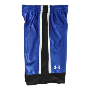 Fitness Reversible shorts with shiny dazzle knit and textured mesh sides, mixing breathability with durabilitySignature Moisture Transport System wicks away sweat, keeping him cool and dry Covered elastic waistband provides him a comfortable fitPolyesterImported - $22.99