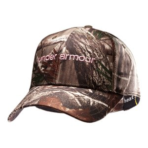 Hunting Camo cap with ultra-lightweight construction delivers comfort and breathabilityBuilt-in internal sweatband helps keep you dry, even when you're sweating bulletsHat has adjustable back closure for custom fit and comfortUnder Armour(R) wordmark embroidered on front so you have stand-out style even while you're blending inWomen's one size fits all100% PolyesterImported - $19.99