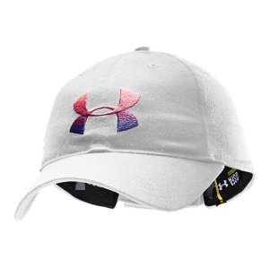 Fitness Unstructured adjustable cap to show your Breast Cancer AwarenessFront 3 color gradient embroidered logo and Power in Pink ribbon emboirdery on the backCustom Under Armour(R) silicon tab closure - $14.99