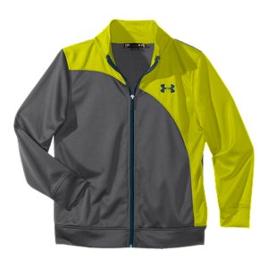 Fitness This is your new go-to warm-up jacket. It's light without being too light, with just the right warmth. It's also durable enough for even the toughest players. Lightweight, textured mesh fabric breathes for superior airflow Signature Moisture Transport System wicks sweat away from the body Mesh hand pocketsPolyesterImported - $33.99