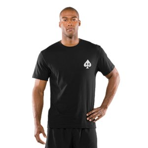 Fitness Performance cotton blend delivers ultra-soft comfort and superior performance Signature Moisture Transport System wicks sweat away from the body, keeping you cool, dry, and focusedAnti-odor technology prevents the growth of odor causing microbes, keeping your gear fresher, longerDurable ribbed collar provides a comfort fit4.4 oz. Cotton/PolyesterImported - $22.99