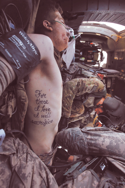 "Guns and Military ""For those I love, I will sacrifice"""