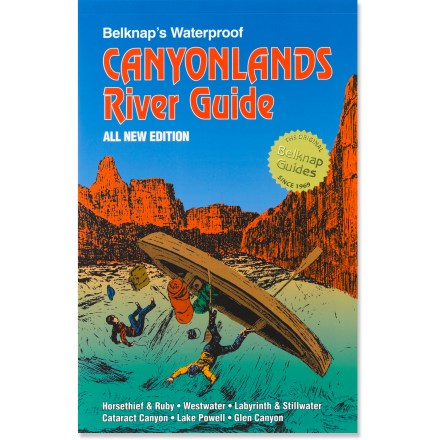 Kayak and Canoe This waterproof river guide chronicles the Green River from Labyrinth Canyon to Lees Ferry on the Colorado River. - $19.95