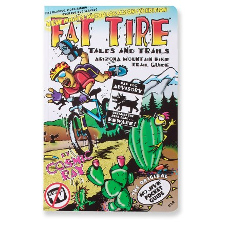 MTB This revised, entertaining, hand-illustrated little guide will keep you laughing all the way to the best of the best Arizona trails! - $6.93