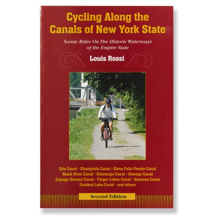 Fitness A complete guide to nearly one thousand miles of bike paths and trails along the historic canals and breathtaking landscape of upstate New York. - $3.83