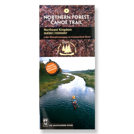 Kayak and Canoe One in the series of official maps, map #6 covers the Northeast Kingdom: Quebec/Vermont area from Lake Memphremagog to the Connecticut River. - $4.93