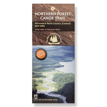 Kayak and Canoe One in the series of official maps, map #2 covers central New York, from Long Lake to Saranac River - $4.83