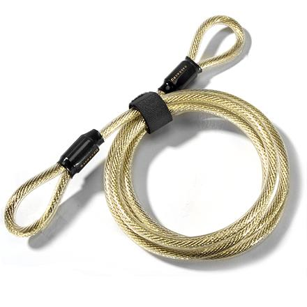 Fitness This anti-theft cable is flexible and easy to use with your padlock to secure your valuables. - $4.93