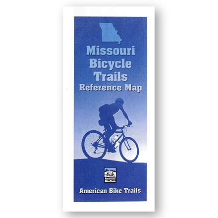Fitness Cycling reference map is loaded with information including trail facts, general trail descriptions and three indexs to help you find the right ride. - $2.93