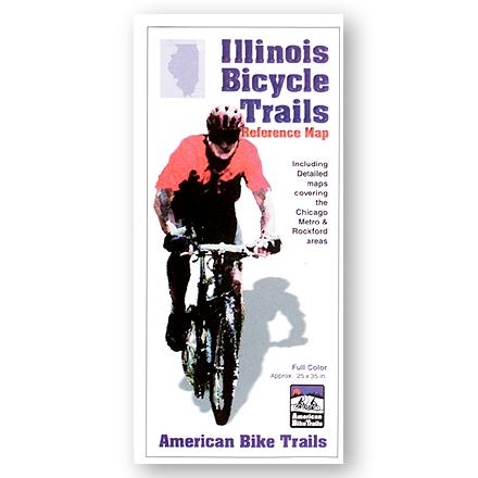 Fitness Cycling reference map is loaded with information including trail facts, general trail descriptions and three indexes to help you find the right ride. - $2.93