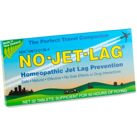 Entertainment Counter jet lag with these homeopathic, all-natural chewable tablets. - $12.00