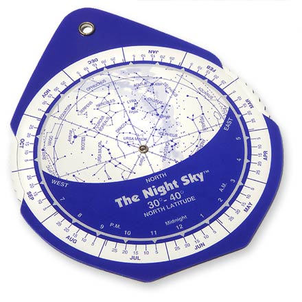 Camp and Hike Easy-to-use mini-planisphere helps you locate stars and constellations in the night sky - $4.93