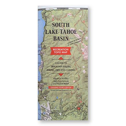 Camp and Hike This map provides a guide to mountain biking, hiking, 4WD and Camping; included elevation profiles, trail descriptions and shaded relief - $3.93