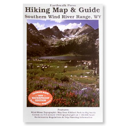 Camp and Hike Printed on waterproof plastic, this topographic map covers Elkhart Park to Big Sandy with backcountry regulations and trip planning information. - $9.95