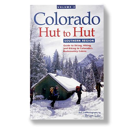 Camp and Hike A guide to skiing, hiking and biking to Southern Colorado's backcountry cabins. Author: Brian Litz. Softcover; 232 pages; color photos; detailed maps. Westcliffe Publishers; copyright 2000. - $19.95