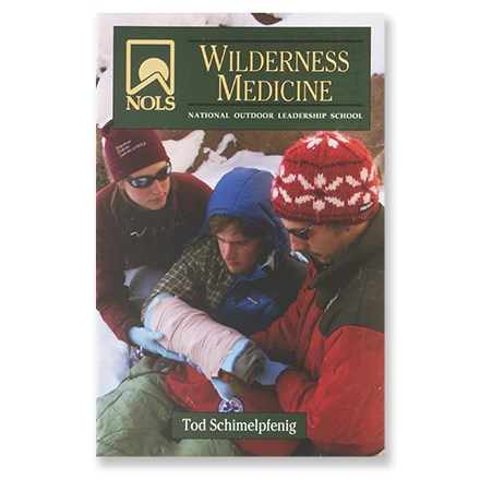 Be prepared for backcountry injuries and know how to treat them with this comprehensive book of wilderness first-aid. Author: Tod Schimelpfenig. Softcover; 317 pages; black-and-white illustrations. Stackpole Books; copyright 2000. From bee stings to brain injury, illustrated information details injury assessment, treatment, stabilization and subsequent need for evacuation. Quick-reference index provides at-a-glance information for speedy intervention. - $16.95