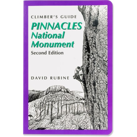 Climbing Guide to the rock climbing routes of Pinnacles National Monument in the coastal range of central California - $11.93