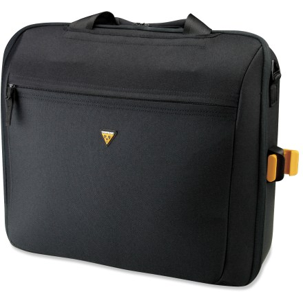 Fitness The Topeak MTX Office Bag carries a 17 in. laptop on the back of your bike. - $129.95