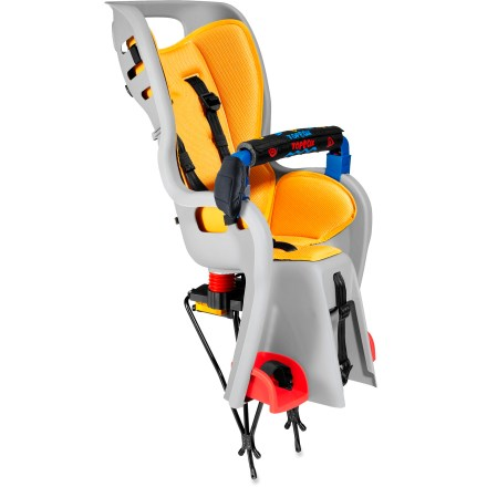 Fitness An innovative suspension, quick and secure rack attachment and customizable seating and harness make the Topeak BabySeat(TM) one of the best deals around. Disc-brake rear rack is included. - $139.93