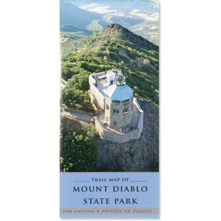 "Camp and Hike The sixth edition Mount Diablo State Park Trail Map is a ""must have"" for park users, from the casual visitor looking for a picnic spot to the serious hiker who wants to explore less visited corners. - $6.00"