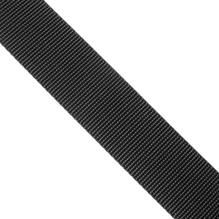 Camp and Hike Use this 1-inch wide, single thickness flat nylon webbing for making straps or repairing backpacks. - $0.40