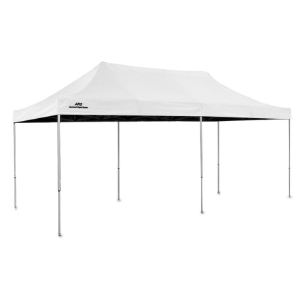 Camp and Hike This freestanding portable 20 X 10 shelter protects from sun and rain. It's ideal for backyard activities, camping, watersports and beach and golf outings. - $529.00