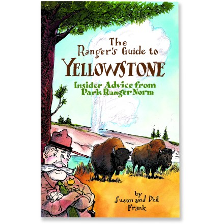 Camp and Hike Ranger Norm, an informative illustrated character based on real-life ranger Norm Bishop, takes you on a comprehensive tour of Yellowstone National Park. - $7.93