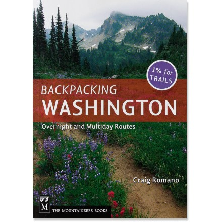 Camp and Hike The comprehensive Backpacking Washington offers 70 of the finest overnight and multiday routes in the state. - $18.95