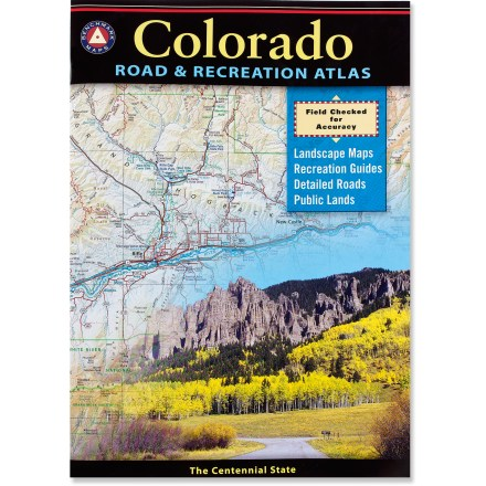 Camp and Hike The Benchmark Colorado Road & Recreation Atlas provides a truly authoritative reference for planning your next adventure to the Centennial State. - $22.95