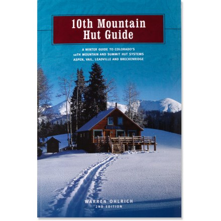 The updated edition of the 10th Mountain Hut Guide is indispensible for those wishing to explore the famed system of backcountry huts around Aspen, Vail, Leadville and Breckenridge, Colorado. - $19.95