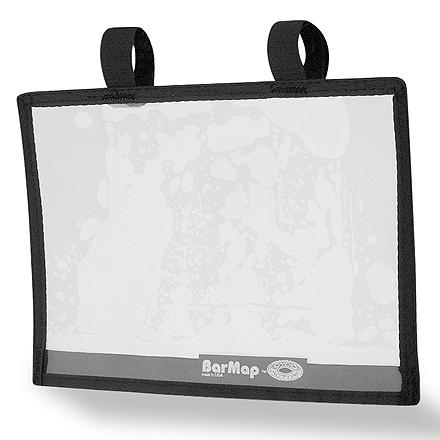 Fitness Designed to hold trail maps and copies from guide books in plain view, attaching easily to your bike's handlebars with hook-and-loop straps - $5.93