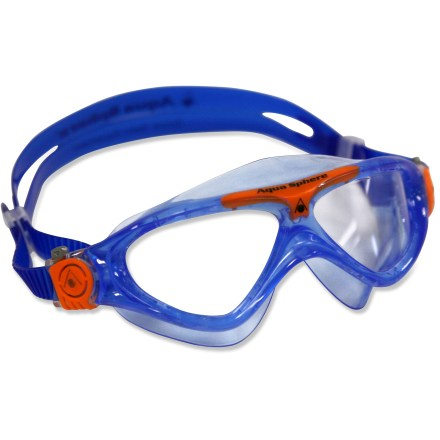 Fitness The Aqua Sphere Vista Jr. swim goggles offer advanced performance and comfort with a contoured, low-profile frame that reduces drag. - $15.93
